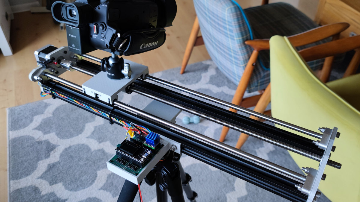Diy Camera Slider With Esp32 And